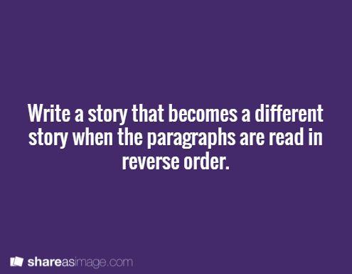 I need short story ideas please?