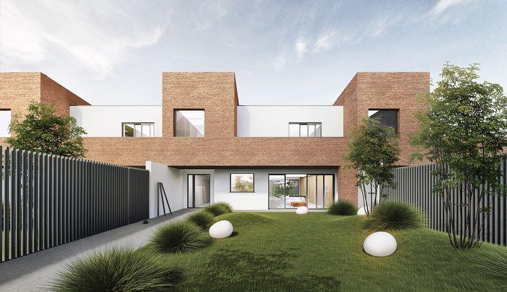 housing design in Warsaw by ARKT Architekci