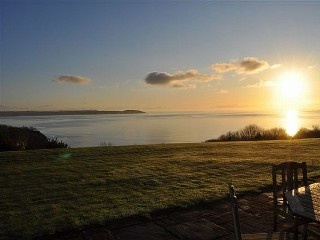 Super cottage on golf course with fantastic panoramic sea view Holiday Rental in St Austell from @HomeAwayUK #holiday #rental #travel #homeaway