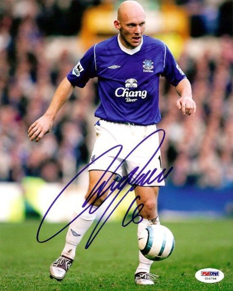 This is a 8x10 Photo that has been hand signed by Thomas Gravesen. It has been authenticated by PSA/DNA and comes with their ssticker and matching certificate.