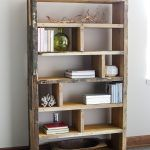 Crates and Reclaimed Pallet Bookshelf