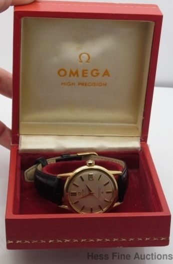 17 best images about horlosie omega seamaster early 1959 18k gold omega constellation chronometer calendar 561 mens watch