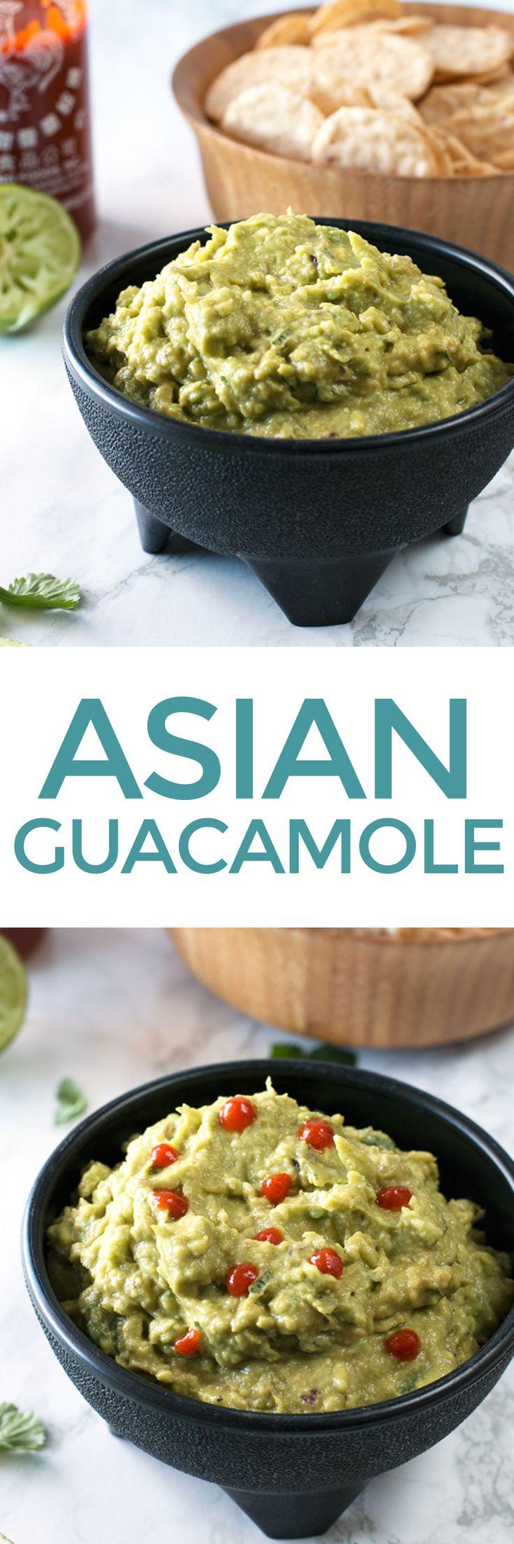 Asian Guacamole – Cake 'n Knife