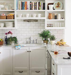 kitchen subway-style-tile - www.myLusciousLife.com.jpg