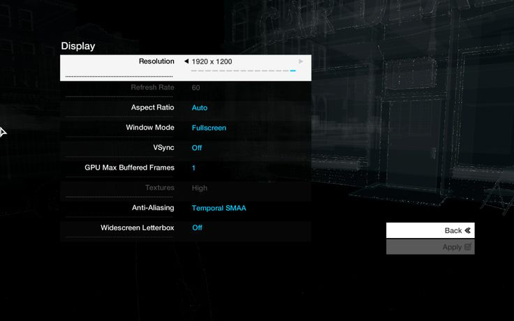 Watch Dogs Performance Issues. Adjust your FPS