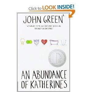 Book #14  An Abundance of Katherines: John Green: 9780142410707: Books - Amazon.ca
