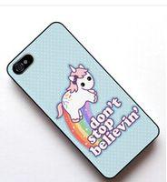Cute Unicorn cover case for Samsung Galaxy s2 s3 s4 s5 mini s6 edge Note 2 3 4 iPhone 4s 5s 5c 6 Plus iPod touch 4 5