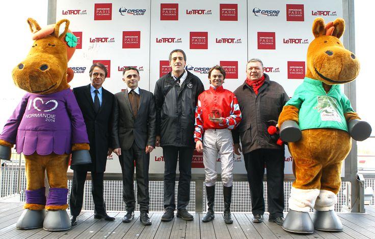 Remise du prix des Jeux Equestres Mondiaux FEI Alltech™ 2014