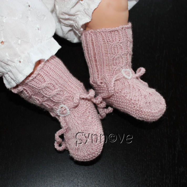 Babysokker i Lanett, egen oppskrift