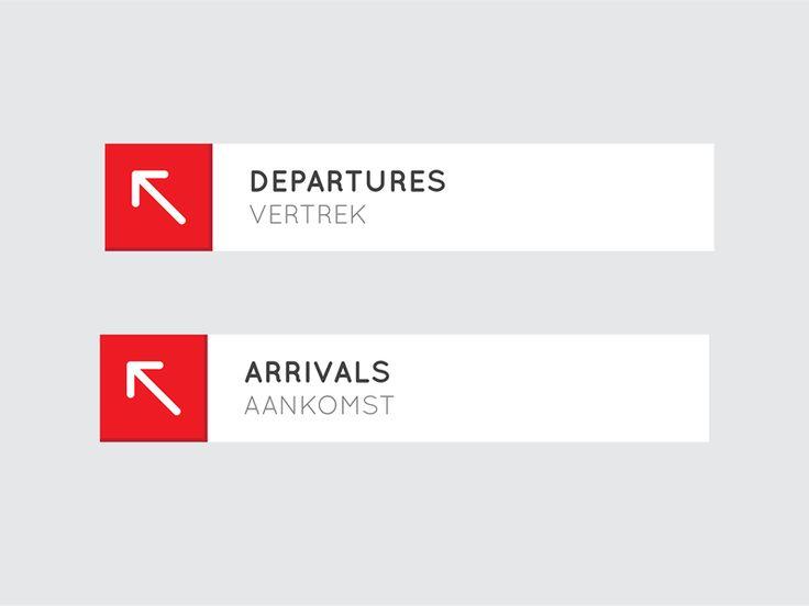 Airport departures arrivals