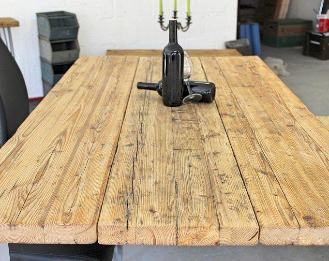 Tisch Aus Bauholz Thex In 2020 Bauen Mit Holz Tisch Und Holz