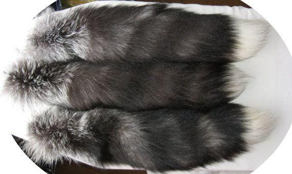 Лисьи хвосты. Чернобурка. Длина 57 см. 2014 год. от VIRTTARHAR