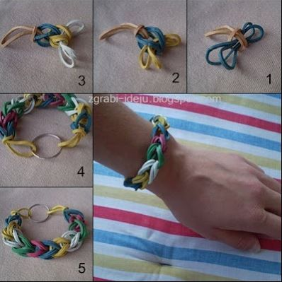 For Make Something Mondays -- 12 Beautiful DIY bracelet design ideas