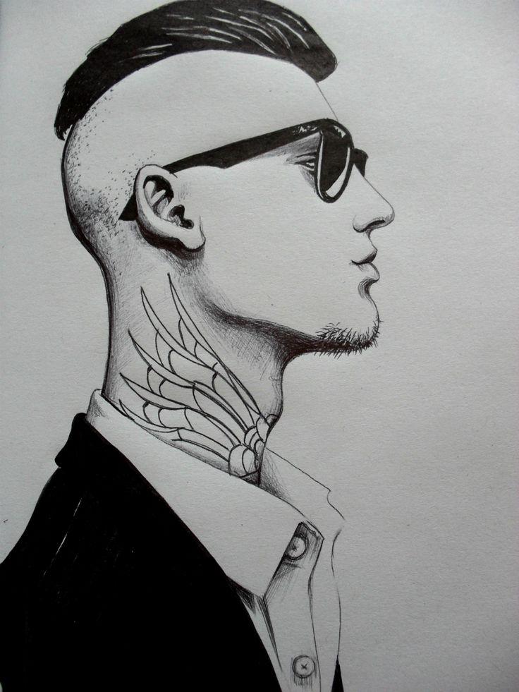 Ilustración a tinta por MC illustrations