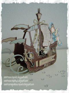 Ship template Sandra's Scrapshop