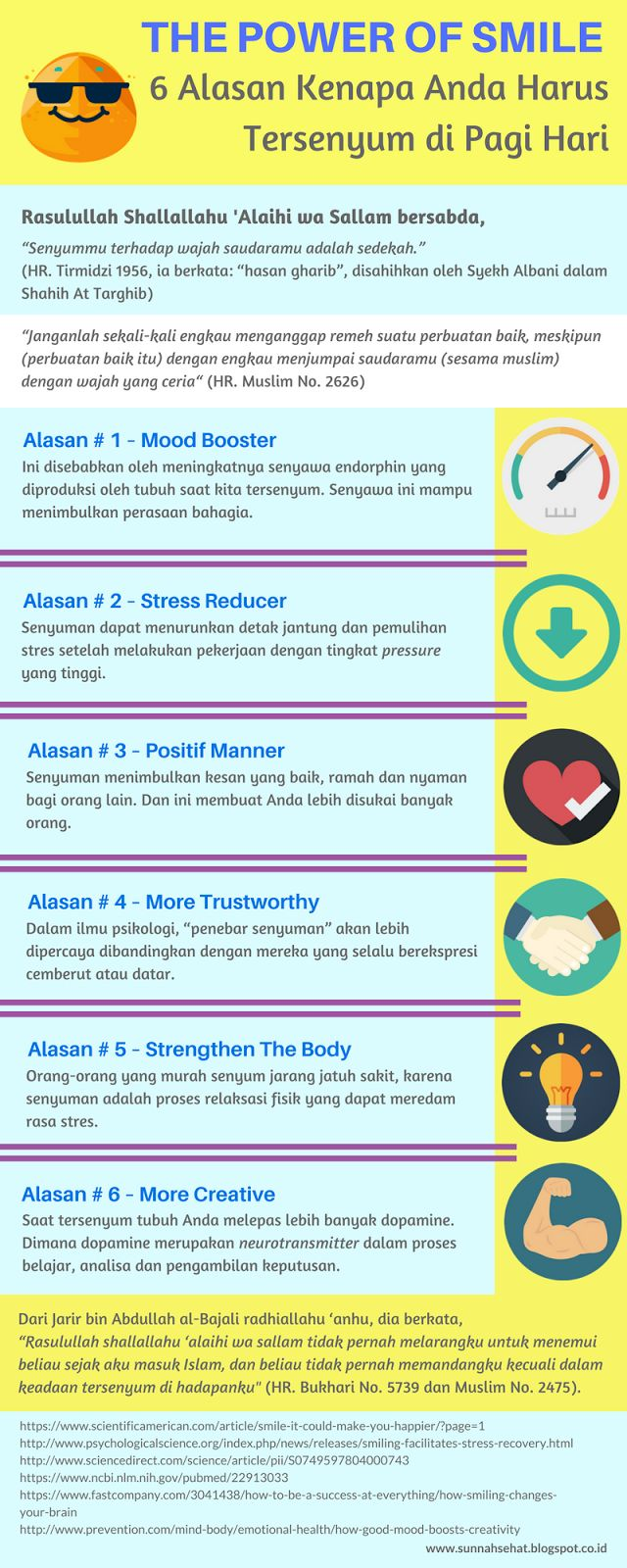 [Infografis] – Ini 6 Alasan Mengapa Anda Harus Tersenyum di Pagi Hari