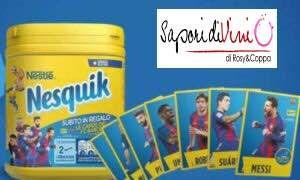 Da domani in offerta... iL #Nesquik con le Tre Figurine del #Barcellona per la Colazione dei Tifosi della #Juventus