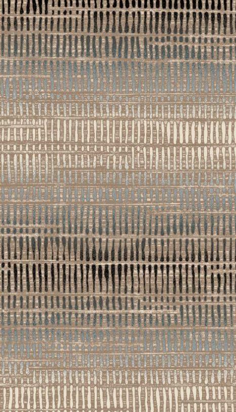 Sierlijke tapijten toevoegen om de department store een huiselijk sfeer te geven omdat het het huis is waar alle merken onder 1 dak vallen.