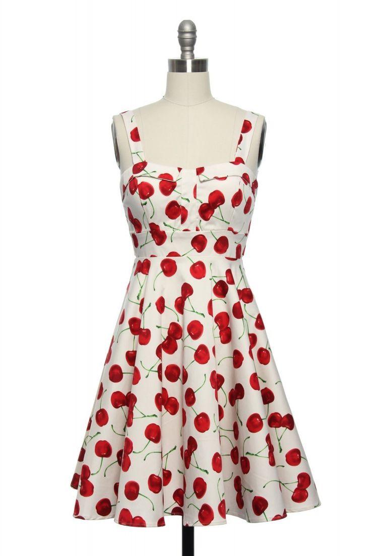 Cherry Popper Pin Up Dress In Plus Size Best Cherries Ideas