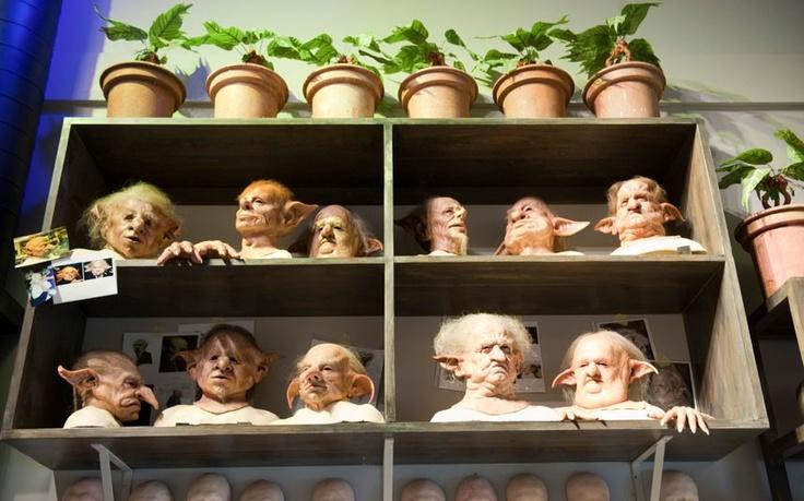 Warner Bros Studio Tour: making of harry potter-creature shop