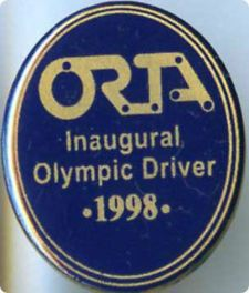 View Item: SYDNEY 2000 OLYMPIC GAMES AUSTRALIA - ORTA DRIVER - 1998 OVAL - GOLD PIN