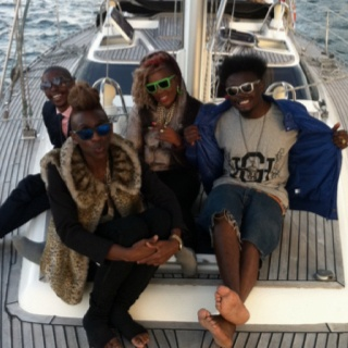 Cream cartel onboard Springtide Charters Knysna yacht