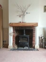 fireplace surrounds for log burners - Google Search