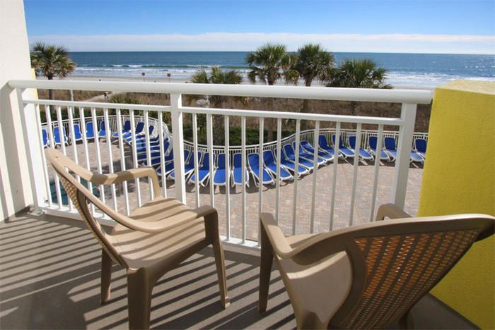 The one-bedroom, one-bath oceanfront vacation rental features as many conveniences and amenities inside the condo as outside, on the smoke-free Bay Watch Resort property. Nicely located on the second floor, near the stairs and elevators, Bay Watch I 204 is a North Myrtle Beach vacation rental that features awesome oceanfront views.