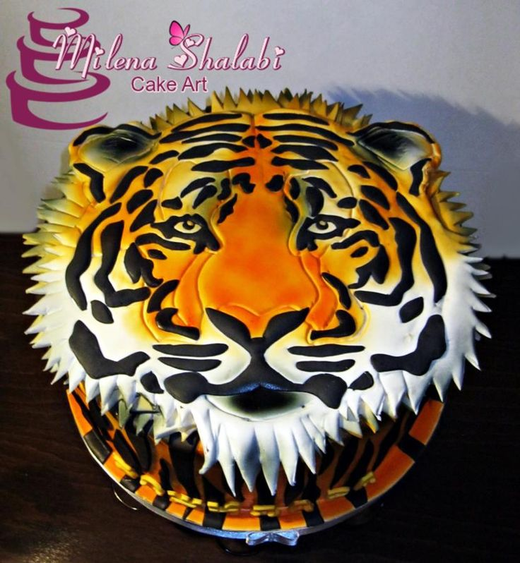 25 Best Ideas About Tiger Cake On Pinterest Daniel