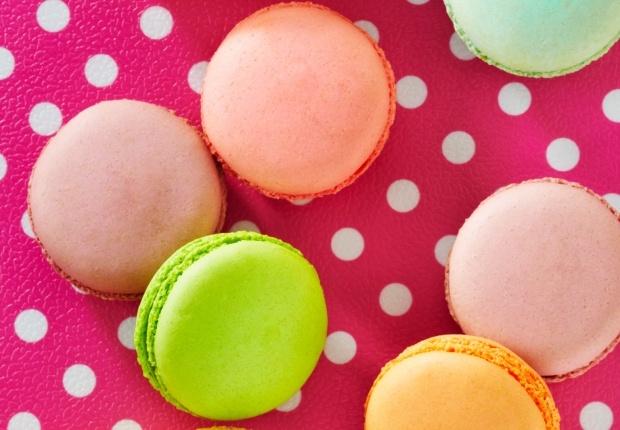 Macaron aux M'S®  Un peu régressifs et carrément gourmands, ces petits macarons… On dit Miam!  Lire la recette de notre internaute: Laureline_ljb