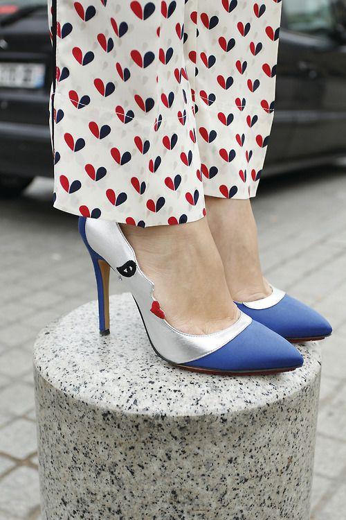 Charlotte Olympia Moon Pumps.: Charlotte Olympia, Fashion Shoes, Faces Shoes, Olympia Moon, Moon Pumps, Blue Moon, Charlotteolympia, Olympia Pumps, Olympia Luna