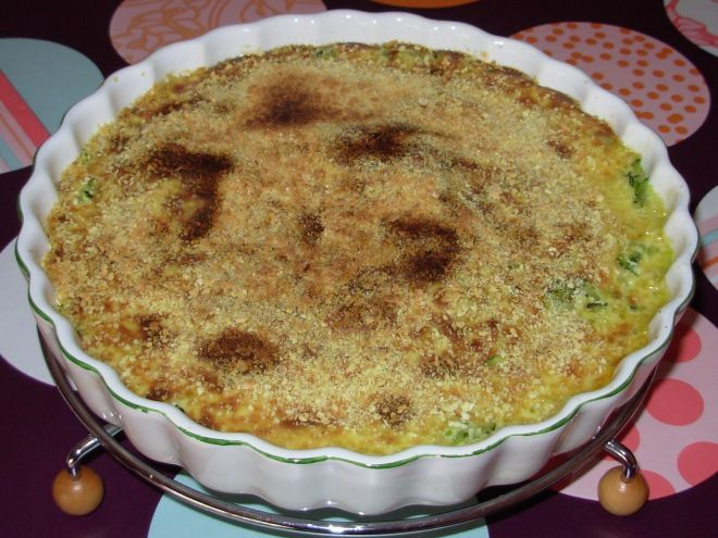 Gratin de courgettes au soja, Recette par Popasan - Ptitchef