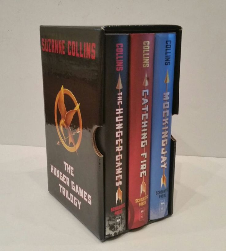 The Hunger Games Trilogy Boxed Set First Editions Suzanne Collins Hardcover