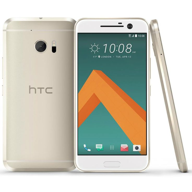 HTC 10 32GB 4G LTE (ohne SIM-Lock) - Gold : Mobile