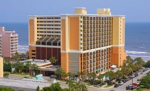 Groupon - Stay at The Caravelle Resort in Myrtle Beach, SC, with Dates into November in Myrtle Beach, SC. Groupon deal price: $45