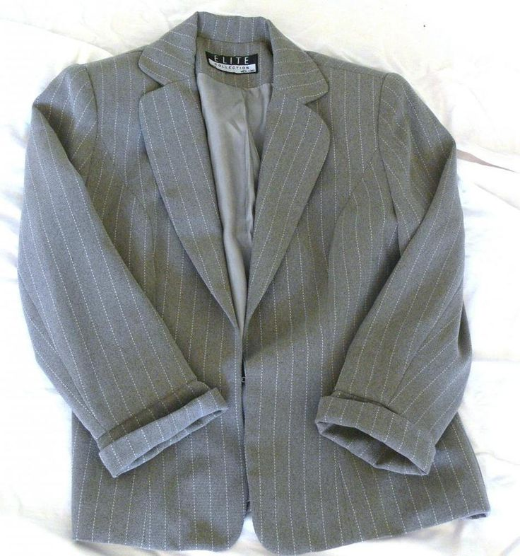 ELITE COLLECTION Blazer PARIS NEW YORK Woman's Suit Jacket Size 6 Made in USA #Elitecollection #Blazer