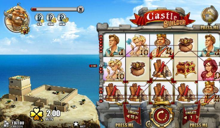 Castle Builder 2 slot maskinen. Se frem til et interessant og underholdende spill full av fantastiske gevinster #CastleBuilder2 #slotmaskinen