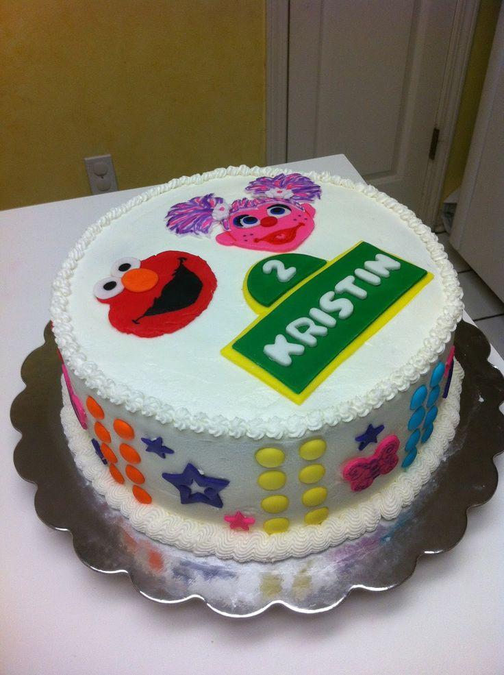 elmo cake ideas Abby Cadabby and Elmo Birthday Cake ...
