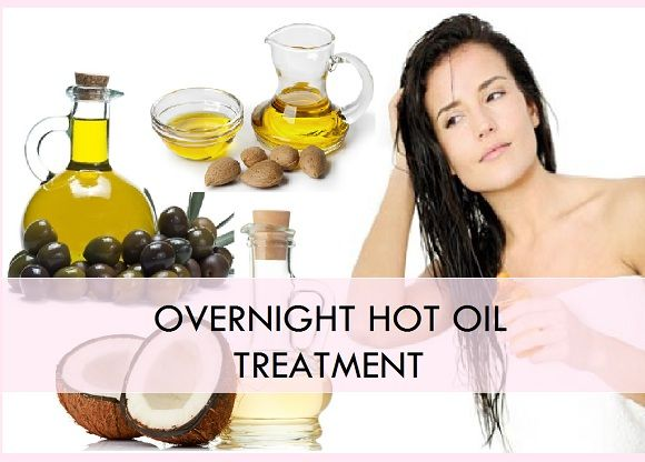 What does hot oil treatment do