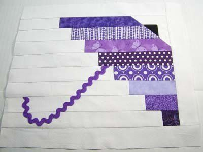 Umbrella Block Prairie Points And Still Crocheting