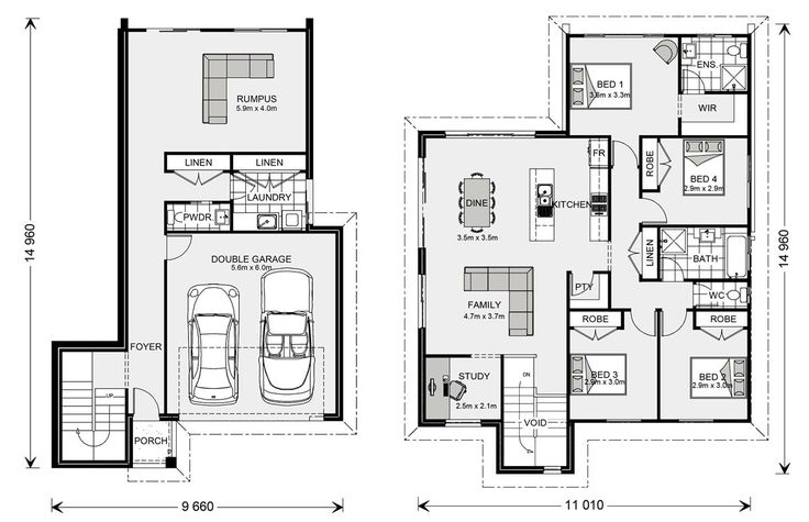 23 best House Plans images on Pinterest | Blueprints for homes ...