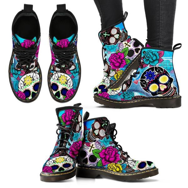 Celebrate the Day of the Dead all year long with these colorful skull patterns! Beautiful, fun and funky, these brightly colored skulls will intrigue people wi