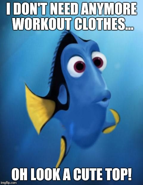 Where do I shop for workout gear.. this blog post will tell you!  Oh look a cute top...