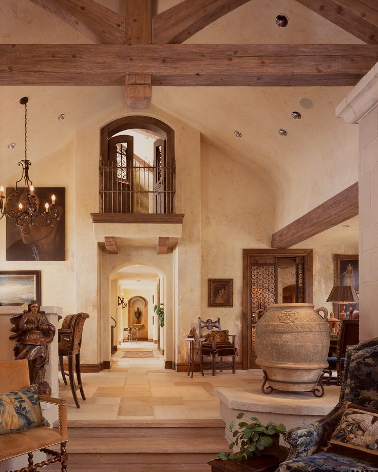 1156 best MY Tuscan Style images on Pinterest Haciendas, Tuscan - tuscan style living room