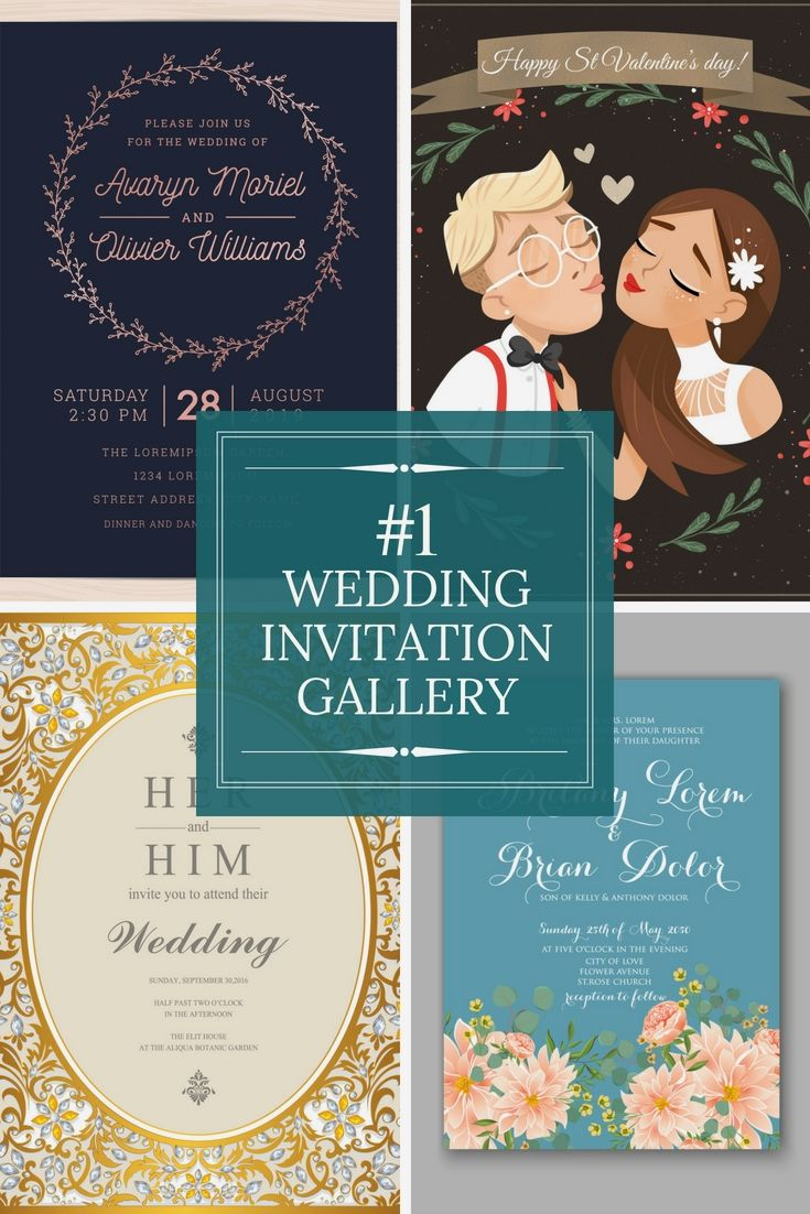Excellent Wedding Invitations Layout Online For Your Own