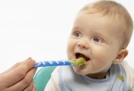 Foods to Feed an 8 Month Old Baby With No Teeth | LIVESTRONG.COM