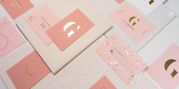 17 Gold Foil Business Card Designs You Need To See