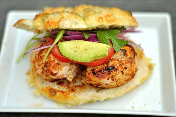 Grilled Cajun Chicken Sandwiches   Wholesomelicious