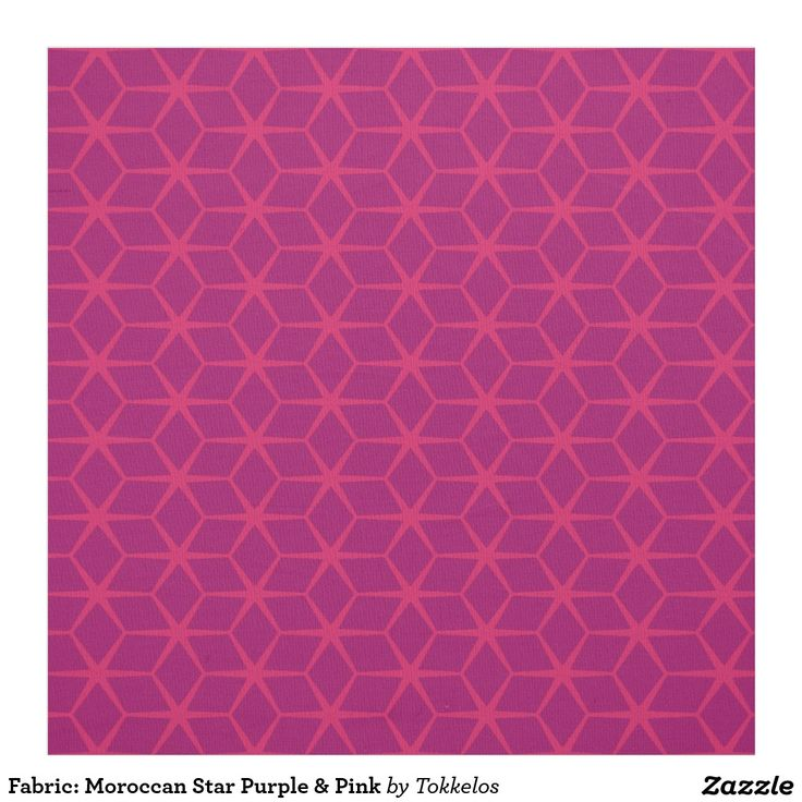 Fabric: Moroccan Star Purple & Pink