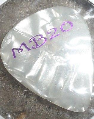 ROB-THOMAS-MATCHBOX-20-Guitar-Pick-purple-writing